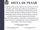 Nota de Pesar 01/04/2021
