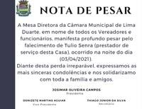 Nota de Pesar 03/04/2021