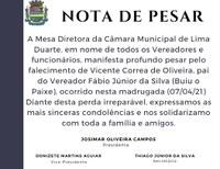 Nota de Pesar 07/04/2021