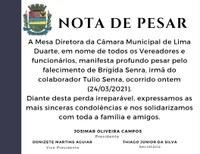 Nota de Pesar 24/03/2021