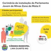 Parlamento Jovem 2021, tem lançamento virtual nesta quarta-feira, 12 de maio