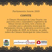 PLENÁRIA MUNICIPAL PARLAMENTO JOVEM 2019